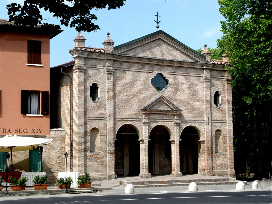 The Church of Santa Maria outside the walls or Santa Maria dell'Ospitale, also called Santa Filomena