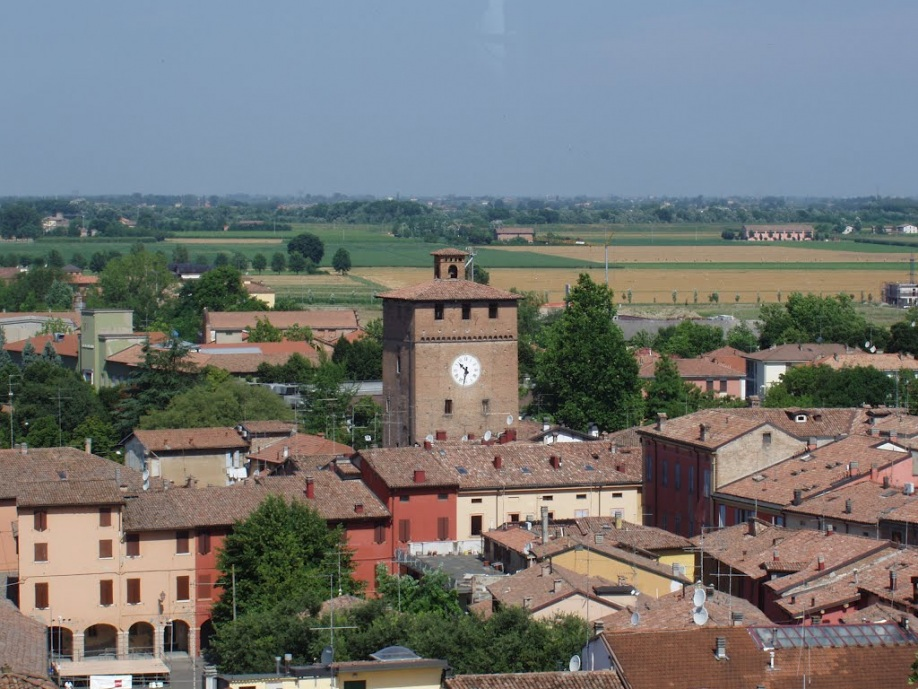 The Tower of the Modenesi or Clocktower
